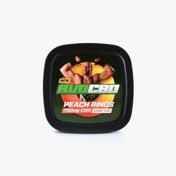 RVDCBD 750mg Peach Ring Gummies – Get Yours Today!