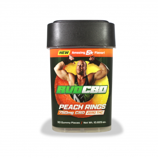 RVDCBD 750mg Peach Rings – Order Yours Today!