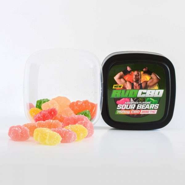 RVDCBD 750mg Sour Bear Gummies – Get Yours Today!